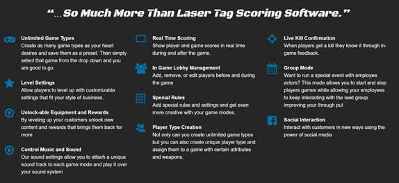 Laser Tag Software