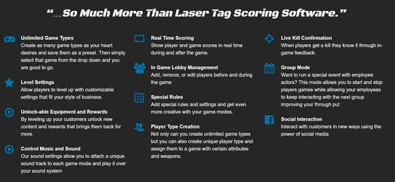 Laser Tag Software