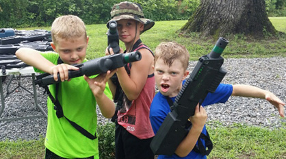 Birthday Party Laser Tag