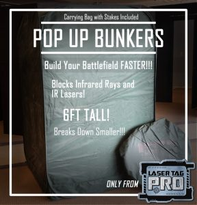 Laser Tag Pop Up Bunker