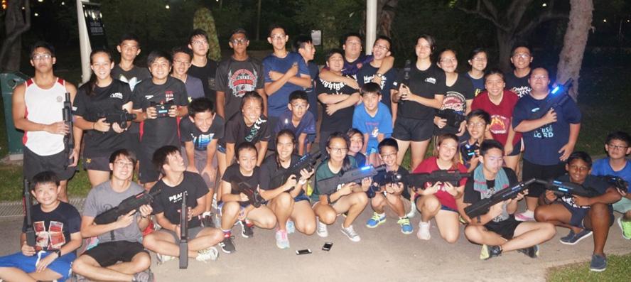 Laser Tag Team
